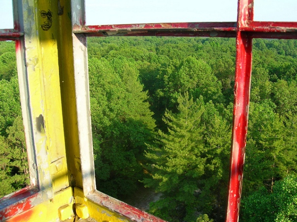 Hickory Ridge Fire Tower Cab