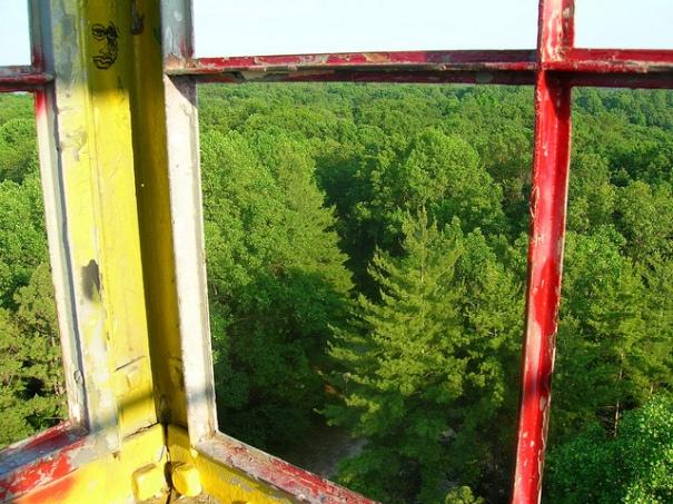 Hickory Ridge Fire Tower Cab