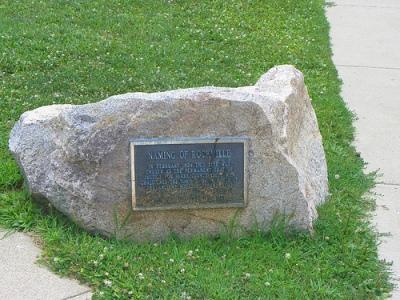 CC-licensed photo of Rockville, IN marker by flickr user J Stephen Cohn