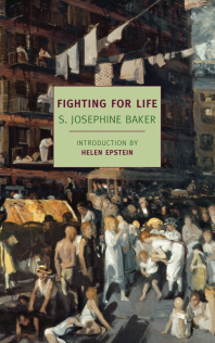 Cover of the re-release of Fighting for Life by the New York Review of Books.